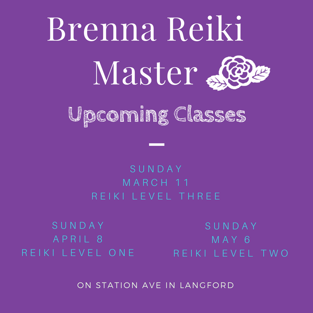 Brenna reiki master healing the body mind and soul upcoming reiki classes buycottarizona Images